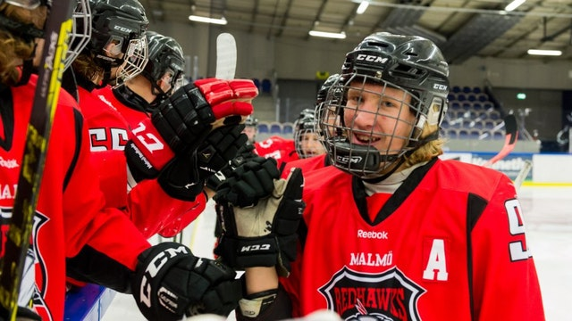 Nu öppnar ansökan till vårt hockeygymnasium