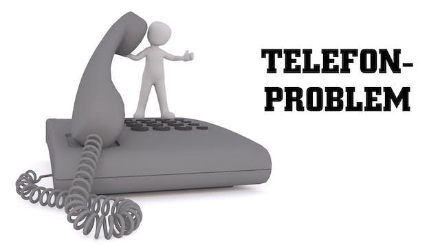 Just nu har vi problem med vår telefonväxel