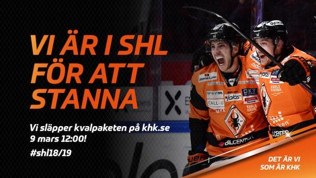 Vi är i SHL för att stanna – Timrå till NKT Arena!