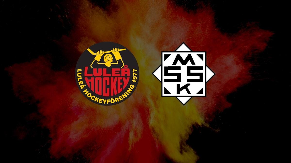 Luleå Hockey/MSSK vann premiären