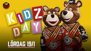Lördag 19/1 är det Kidzday på Coop Norrbotten Arena.