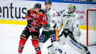 Färjestad vann målfesten i Luleå