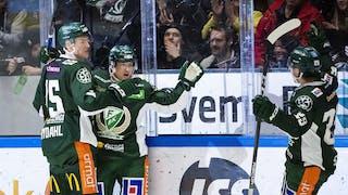 Marcus Nilsson gjorde två mål och en assist när Färjestad slog HV71 med 6-2