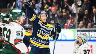 HV71:s Anton Bengtsson segerskytt mot Frölunda.
