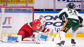 Moras målvakt Janne Juvonen storspelade när dala-laget