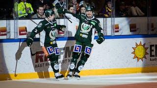 Färjestad tryckte tillbaka Brynäs och vann till slut klart med 4-1