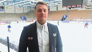IK Oskarshamns nye sportchef Daniel Stolt.