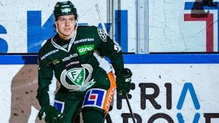 Oskar Steen historisk segerskytt för Färjestad