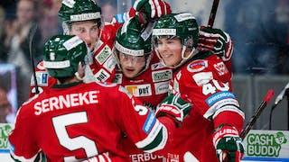 Frölunda höll undan för Djugården - vann med 5-3