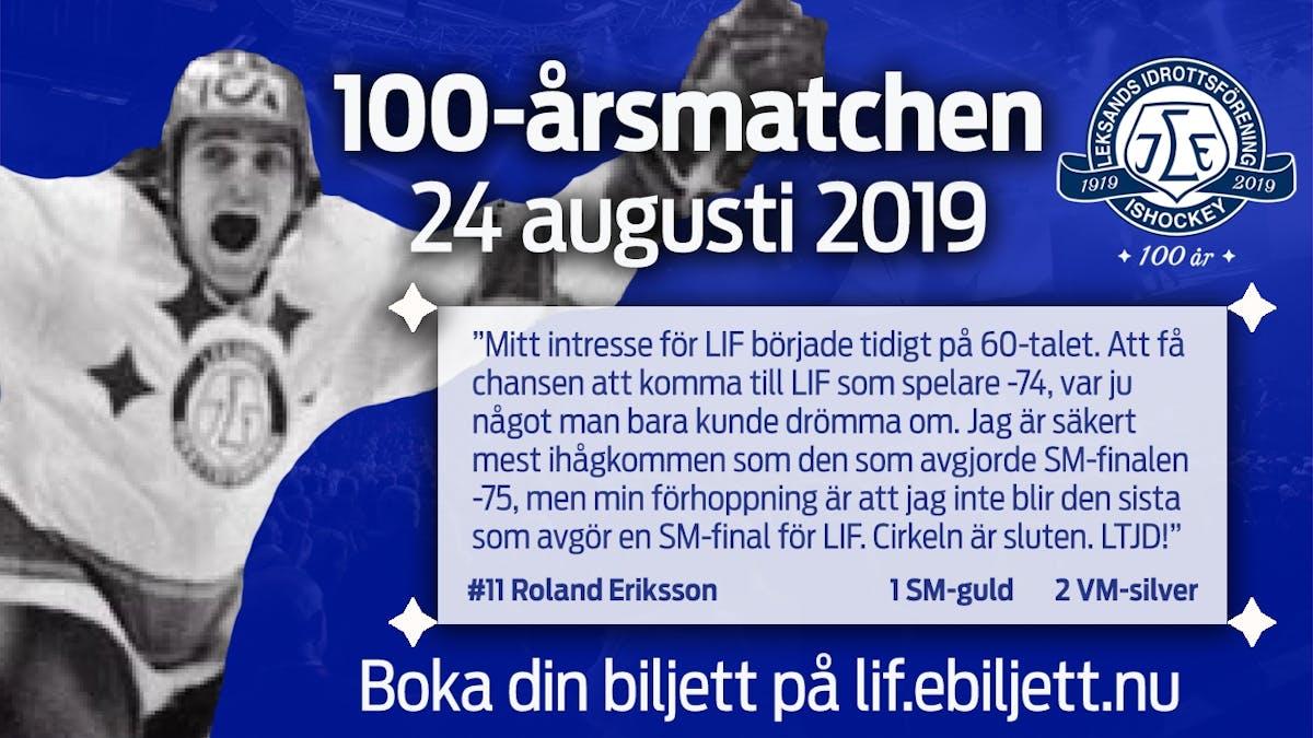 83b85be09779 Klar för match: Roland Eriksson - Leksands IF