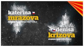 Katerina Mrazova och Denisa Krizova, Brynäs IF