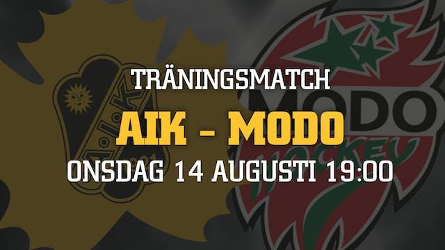Biljettsläpp träningsmatchen mot MODO