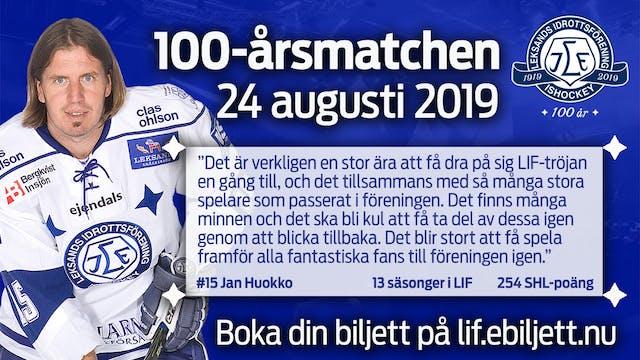 Klar för match: Jan Huokko