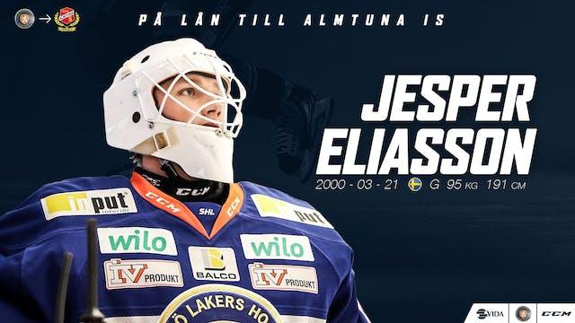 Jesper Eliasson lånas ut