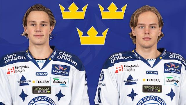 Karlberg och Johansson till U20-landslaget