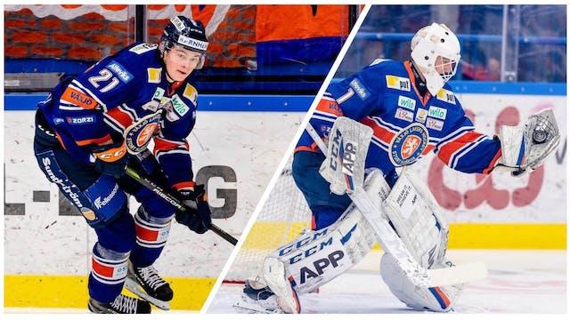 Cederqvist och Eliasson uttagna till Juniorkronorna