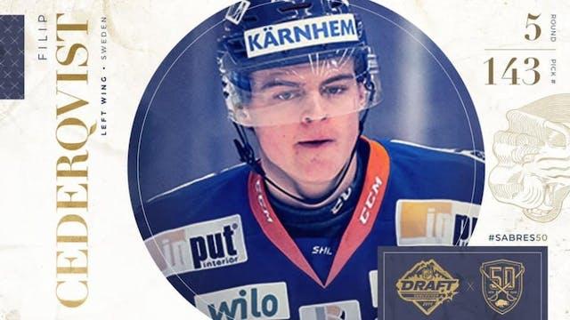 Cederqvist draftad av Buffalo Sabres
