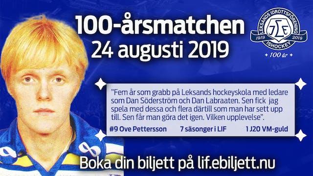 Klar för match: Ove Pettersson