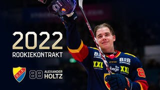 Alexander Holtz skriver kontrakt med DIF till 2022