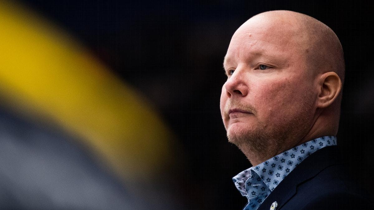 Jonas Holmström inför matchen mot Färjestad