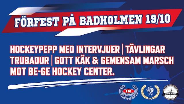 Förfest på Badholmen!