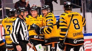 Rickard Hugg blev målskytt för Skellefteå
