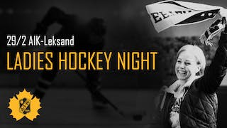 LADIES HOCKEY NIGHT 29 FEBRUARI 2020