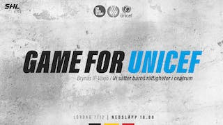 Game for unicef, Brynäs IF