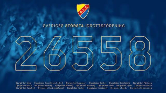 Djurgårdens IF är Sveriges största idrottsförening
