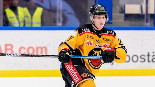 Juniorrekord av Lundkvist då Luleå Hockey vann