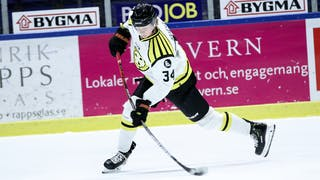 Oskar Kvist, Brynäs IF, landslag, debut