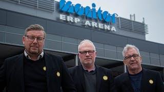 Peter Strömsten, Kalle Norling, Larsa Lindberg, Brynäs IF, marknadsavdelning, säljare
