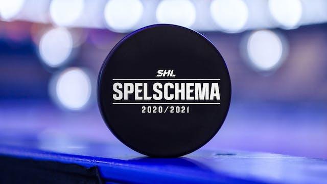 Spelschema: SHL 20/21