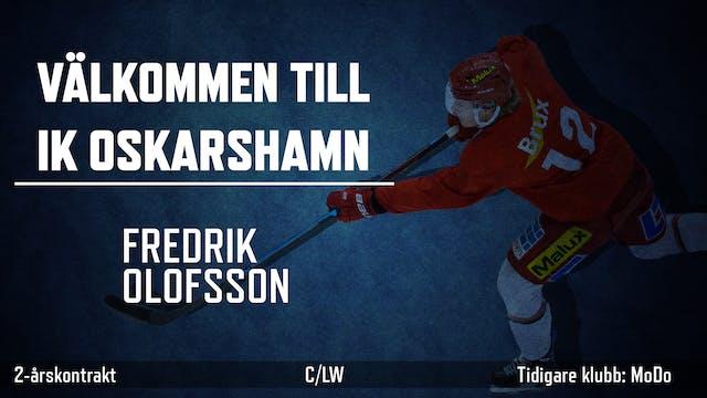 Välkommen till IK, Fredrik!