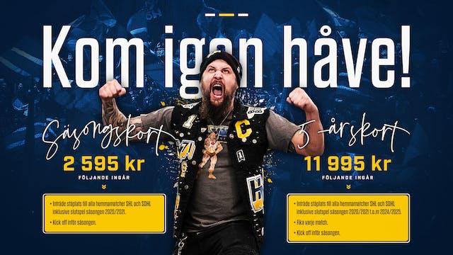 HV71 lanserar 5-årskort på ståplats