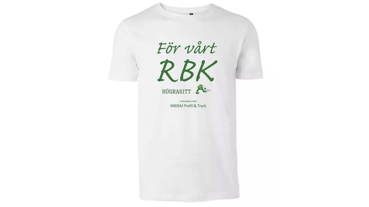 Köp t-shirten och stötta Rögle BK