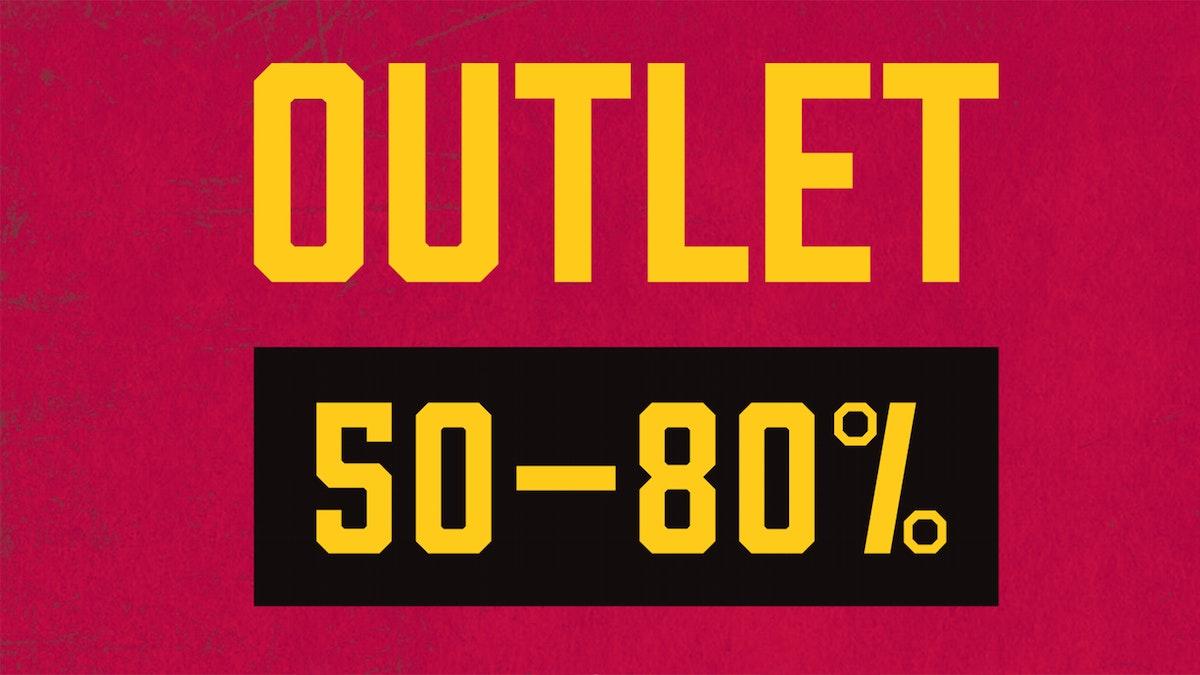Souvenir-outlet vecka 44