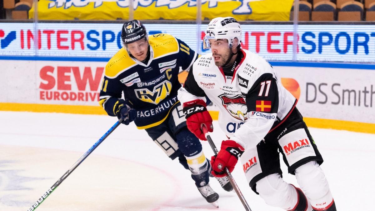 Redhawks hårt straffat i Jönköping