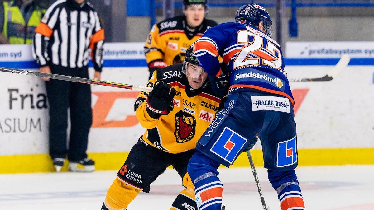 Rosén tvåmålsskytt när Luleå besegrades