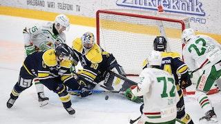 Rögle oroar framför kassen i vinsten med 5-1 mot HV71.
