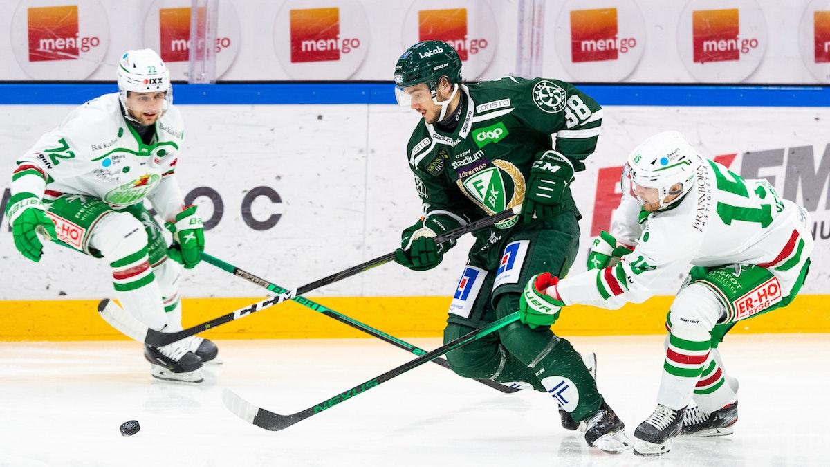 Forsbacka Karlsson debuterade mot Rögle