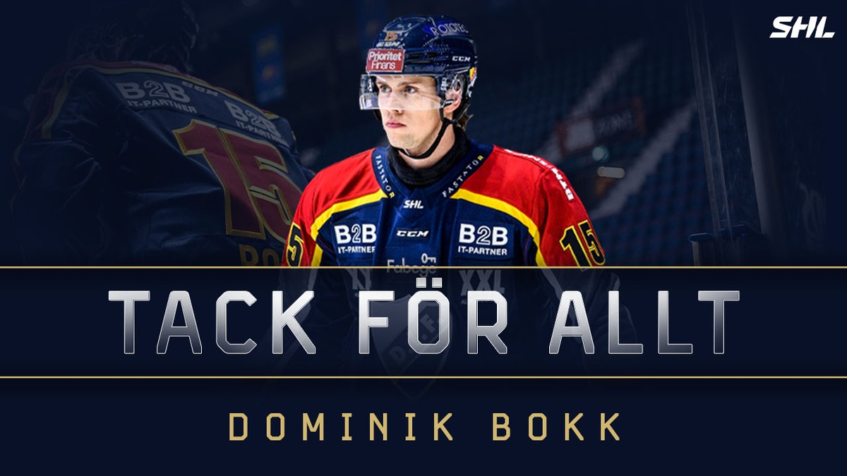 Vi tackar Dominik Bokk för hans tid