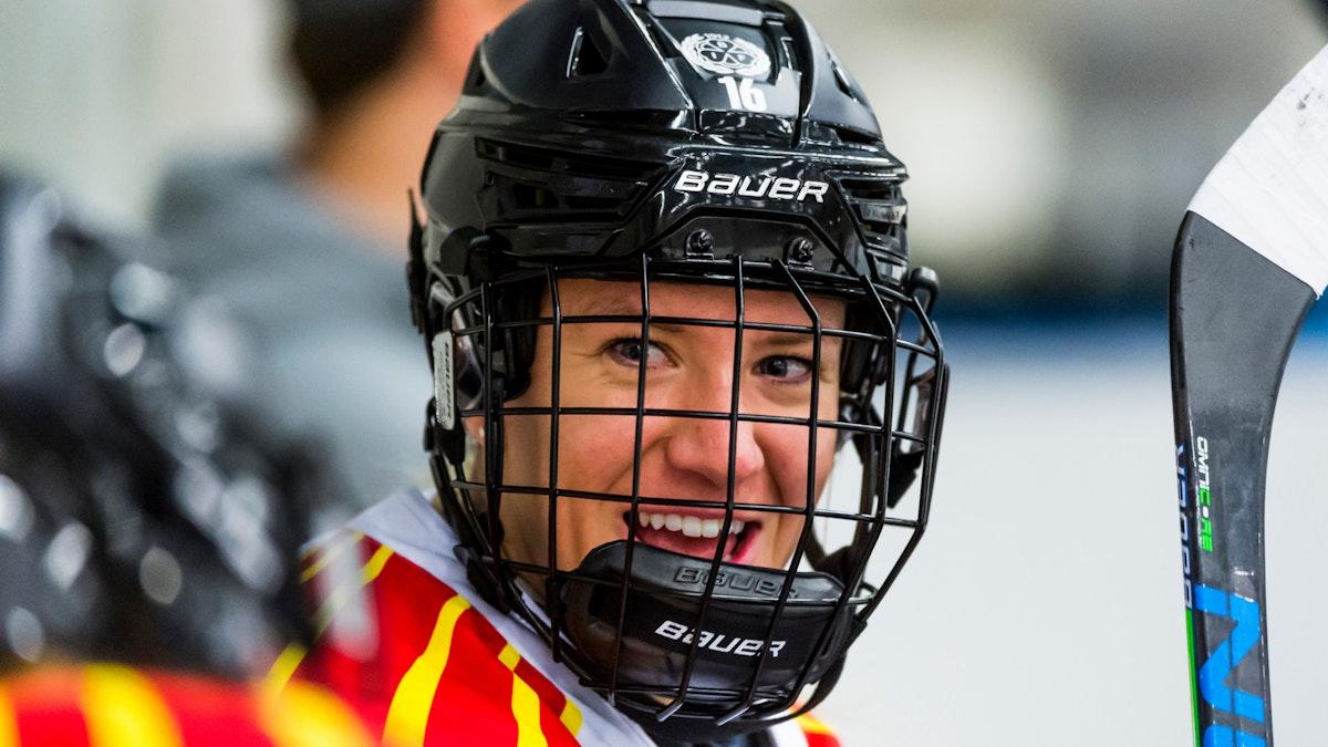 Katerina Mrazova framröstad som ligans mest värdefulla spelare - vinnare av Guldhjälmen 2020/21