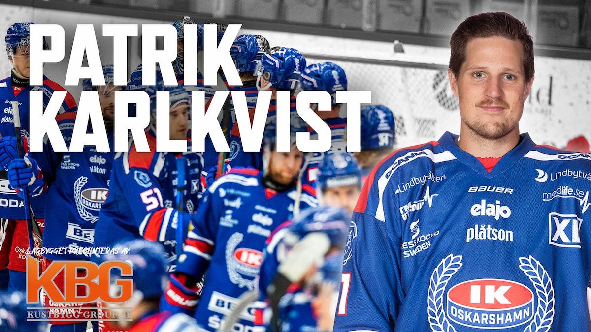 Patrik Karlkvist sajnar på för IKO
