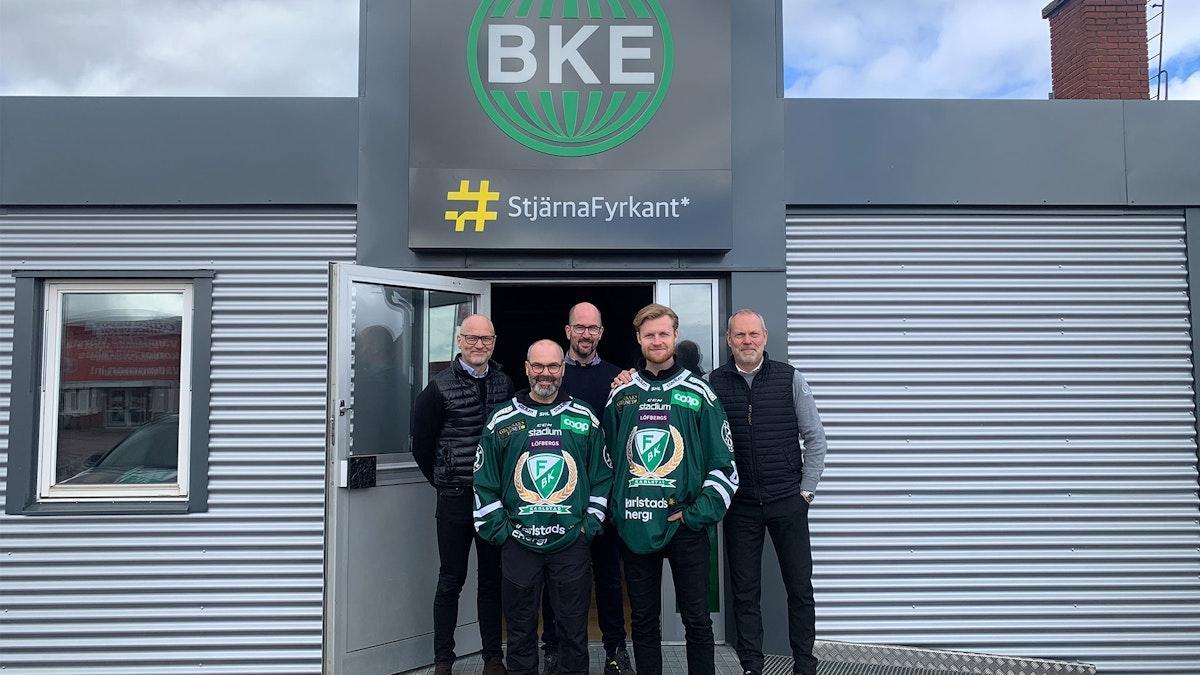 BKE StjärnaFyrkant Karlstad inleder partnerskap med Färjestad BK