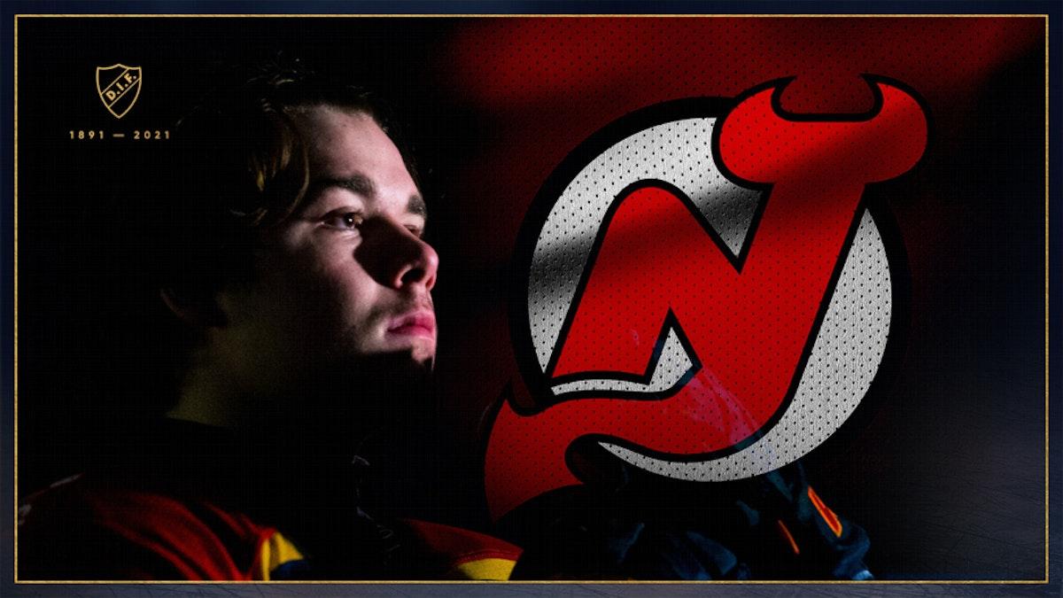 Alexander Holtz skriver NHL-avtal med New Jersey Devils