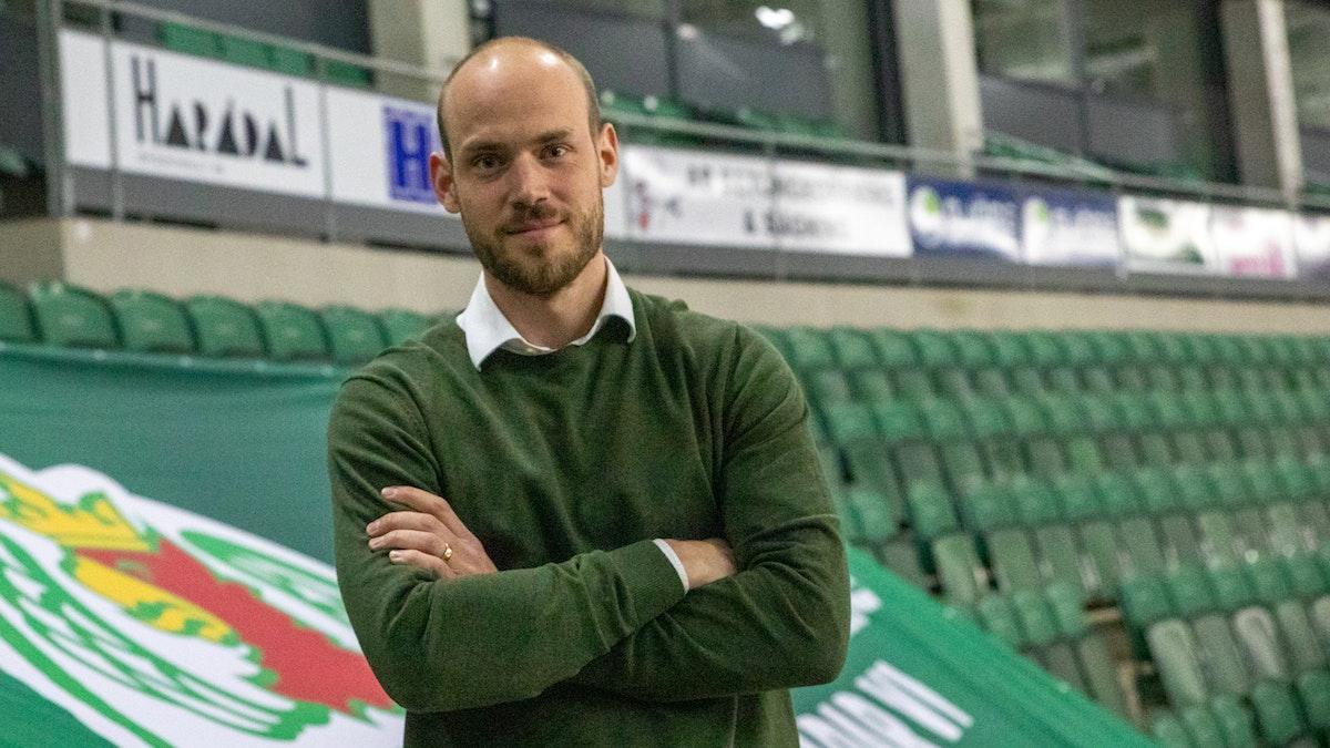 Julius Bergkvist ny sportadministratör i Rögle BK