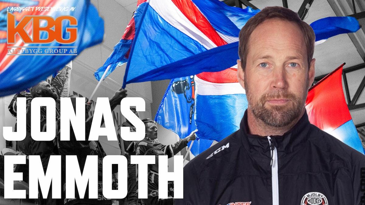 Jonas Emmoth stärker upp staben