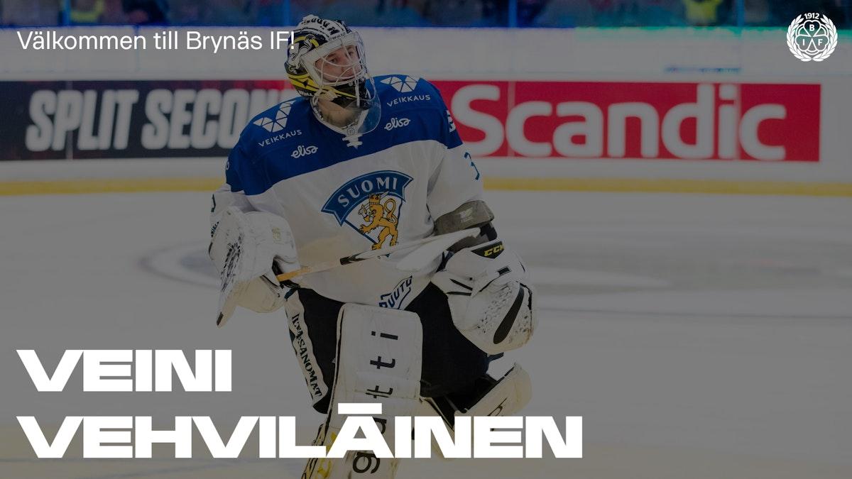 VM-guldmålvakt klar för Brynäs - välkommen Veini Vehviläinen