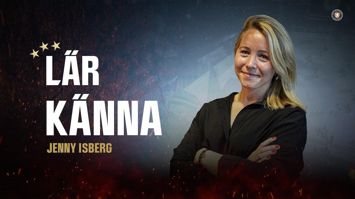 Möt ordförande Jennie Isberg